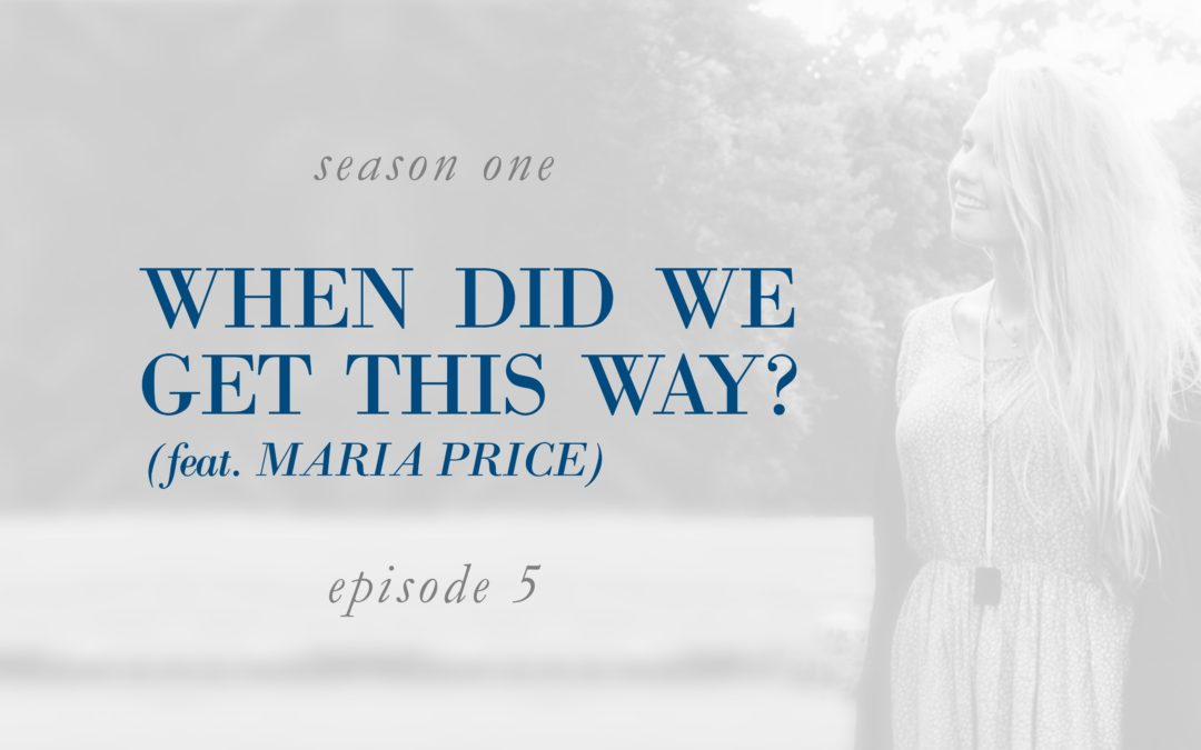 When Did We Get This Way? (feat. Maria Price)